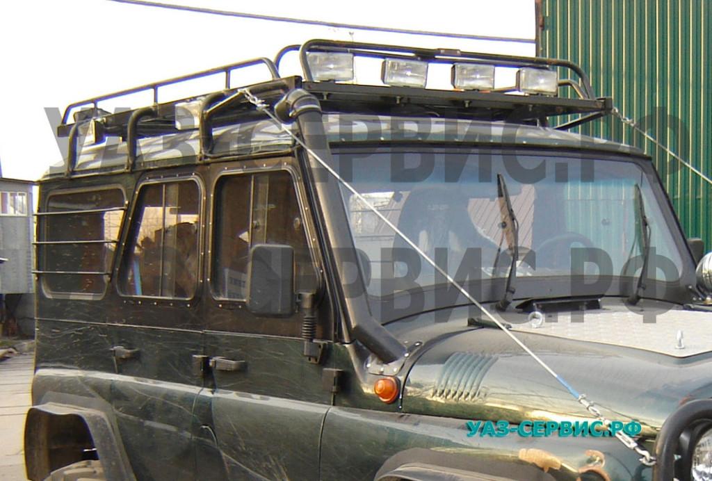 Алюминиевый экспедиционный багажник для УАЗ собственного производства