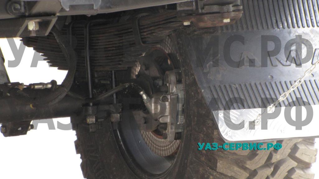 Дисковые тормоза в задний мост УАЗ