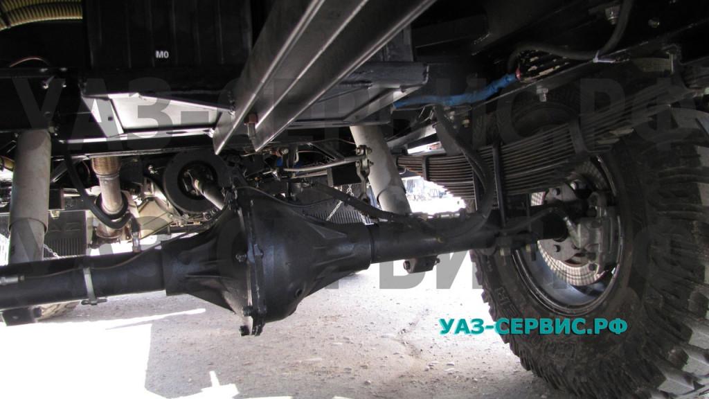 Дисковые тормоза на УАЗ задний мост