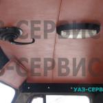 Фара дополнительного освещения на крыше с ручным управлением из кабины УАЗ Буханка
