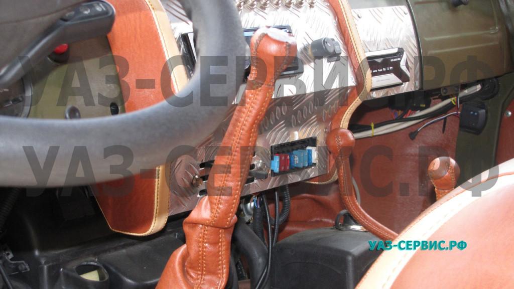 Обшивка салона автомобиля алюминием
