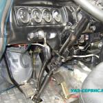 Регулируемая рулевая колонка на УАЗ Буханка