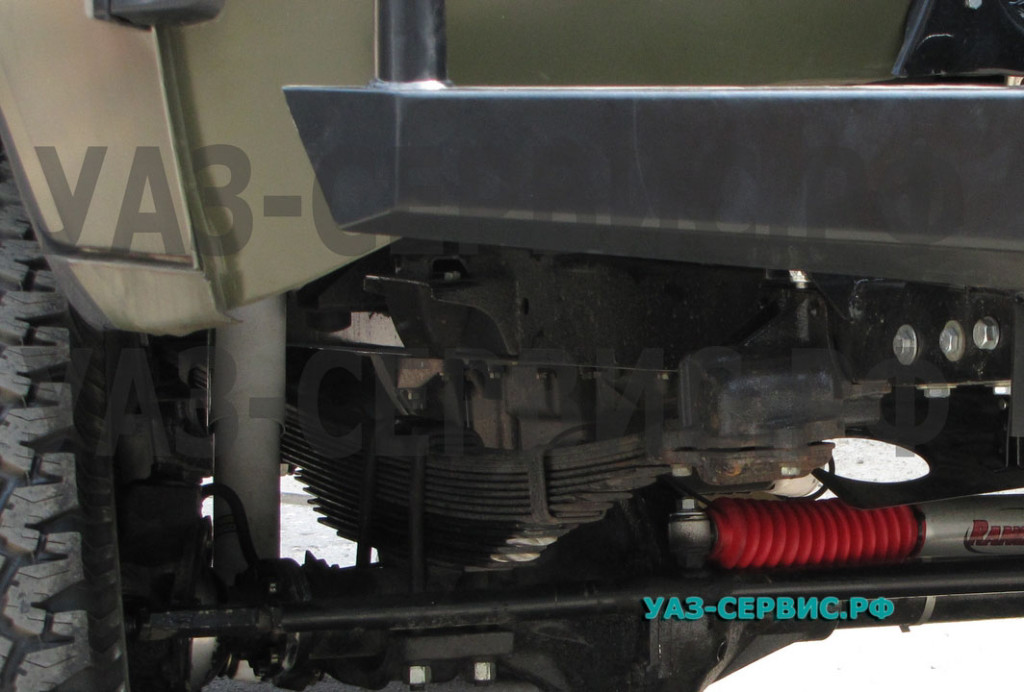 Рулевой демпфер на УАЗ
