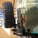 Система выпуска отработанных газов УАЗ тюнинг нержавейка