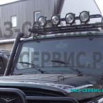 Танковые фары на УАЗ тюнинг