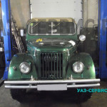 УАЗ 469 тюнинг - установка нового двигателя
