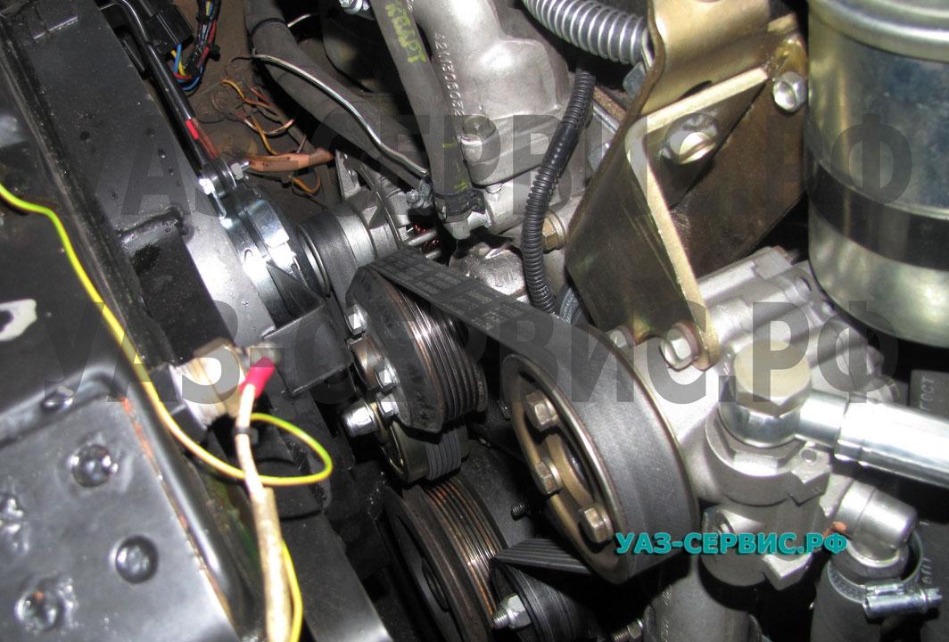 Произведен тюнинг двигателя уаз 469
