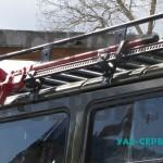 УАЗ Буханка тюнинг (919) - багажник на крышу собственного производства