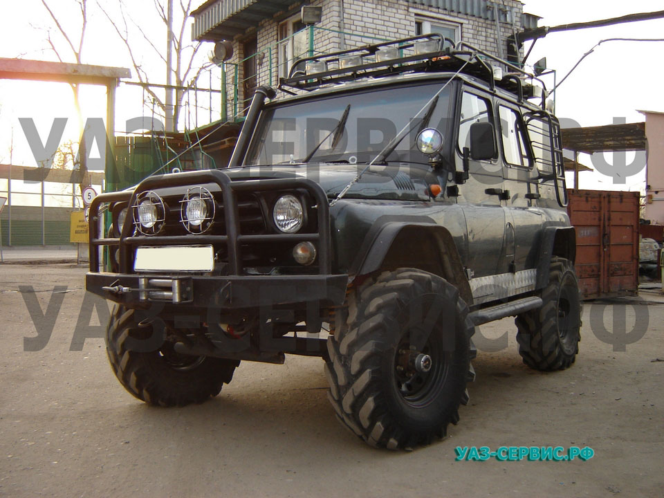 Ремонт автомобиля уаз 469