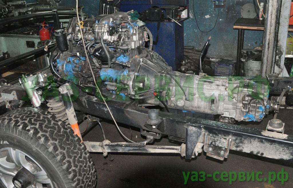 АКПП на УАЗ Хантер