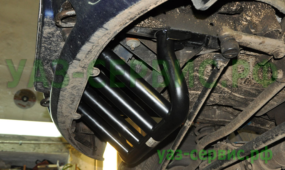 Защита двигателя УАЗ Патриот