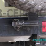 Крепление запаски на УАЗ Буханка