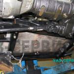 Защита бензобака УАЗ сотственного производства