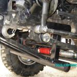 Защита картера двигателя рулевой тяги УАЗ с лебедкой собственного производства тюнинг